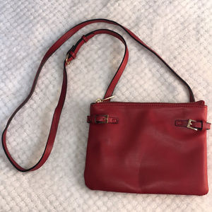 {Forever 21} Bright Red Crossbody Purse